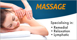 Massage now available!